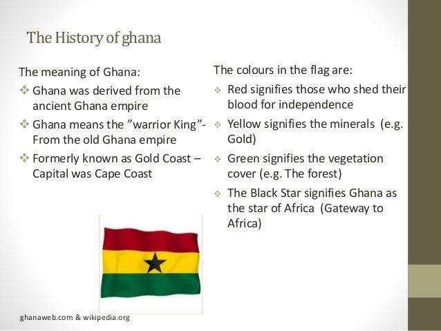 The unique culture of Ghana Slide 2