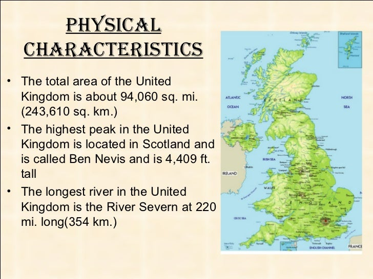 The united kingdom physical characteristics sciox Image collections
