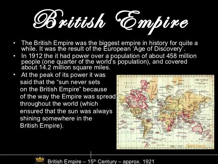 The United Kingdom - A Timeline