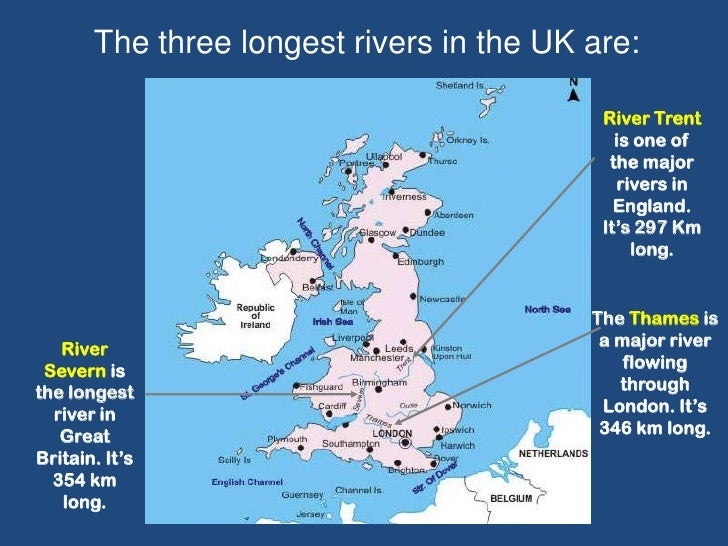 The United Kingdom Quiz - World's longest rivers top 5