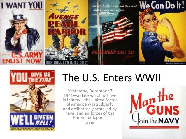 the participation of the united states in wwii The american economy during world war ii christopher j tassava for the united states, world war ii and the great depression constituted the most important economic.