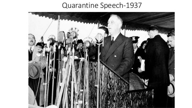 quarantine of 1937