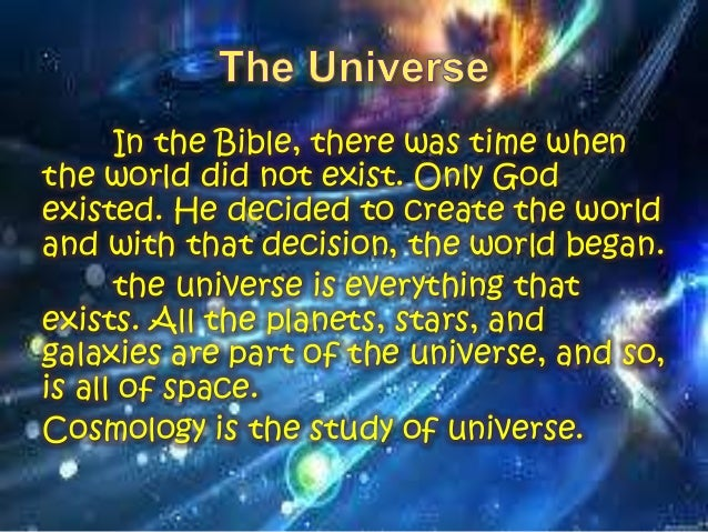 the origin of the universe Can you hear me according to the boshongo people of central africa, in the beginning, there was only darkness, water, and the great god bumba.