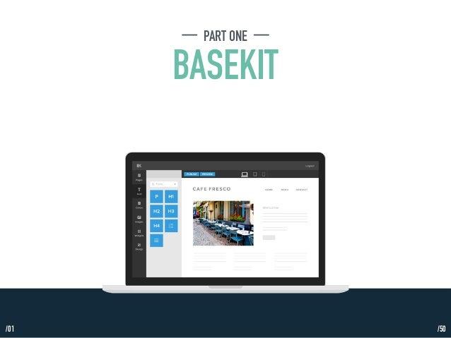 PART ONE  BASEKIT  /01 /50