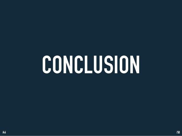 /46  CONCLUSION  /50