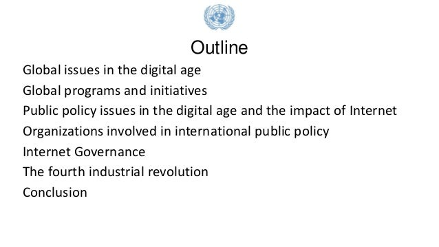 The UN perspective on Digital Public Policy Slide 2