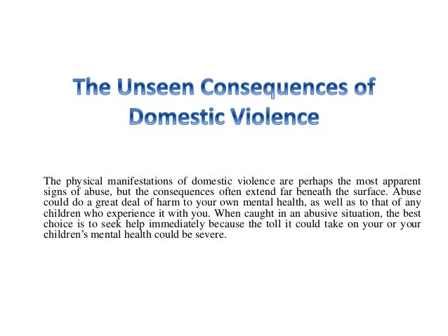 What Causes Domestic Violence?
