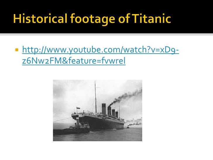 an analysis of the titanic disaster This technical paper lays the basis for cause-and-effect root cause analysis and   a novel example of the titanic sinking is followed by a practical approach for.