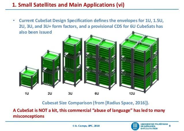 Small Satellites and Earth Observation  The UPC NanoSat program