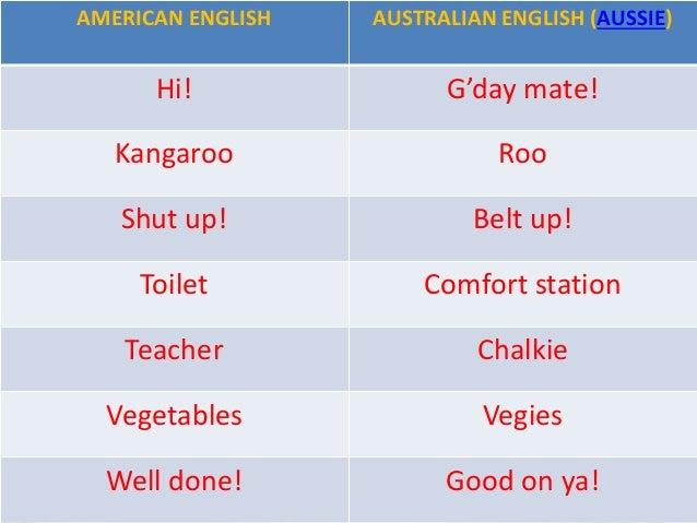 The Usa And Australia Esl Class