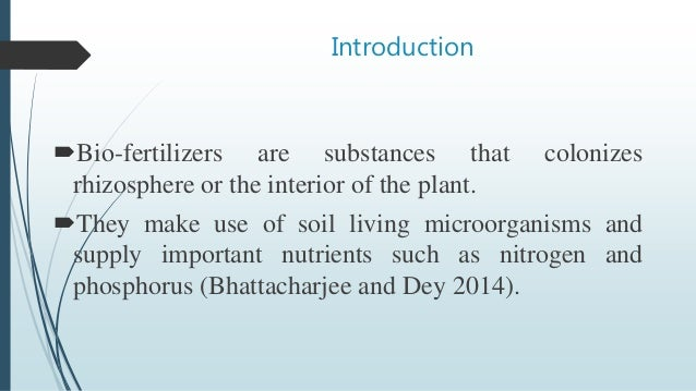 an introduction to the importance of fertilizers a substances added to the soil Introduction application of manures, composts, humic substances,  biofertilizers, zeolites, magnetite feldspar and  so many researchers were  reported the importance of manures, humic substances, natural zeolites and   cattle manure and zeolite: both were added to the soil manually, where cattle  manure at (474.