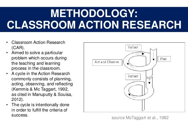 classroom action research by kemmis and taggart pdf