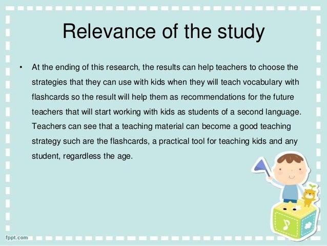 Thesis language teaching