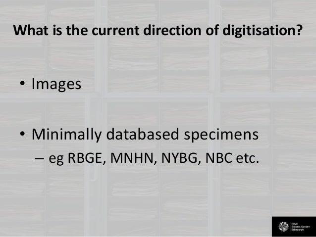 The use of ocr in the digitisation of herbarium specimens