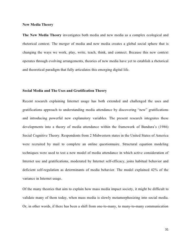 effects social media essay