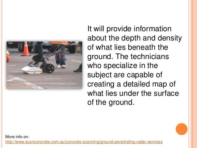 The Uses Of Ground Penetrating Radar Equipment