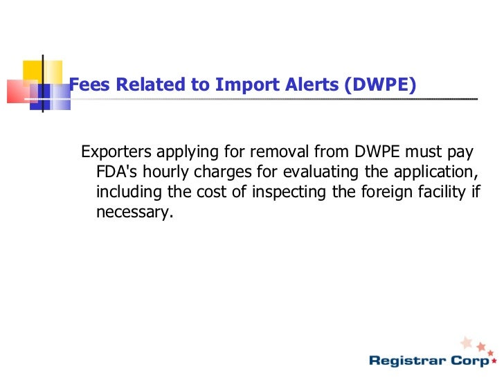 New Food Shipment Act
