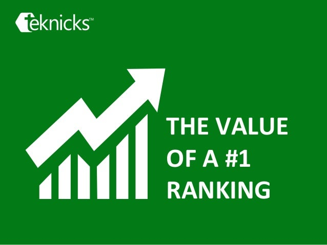 THE  VALUE     OF  A  #1     RANKING