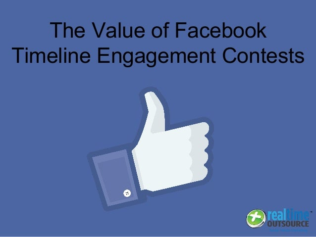 The Value of Facebook Timeline Engagement Contests