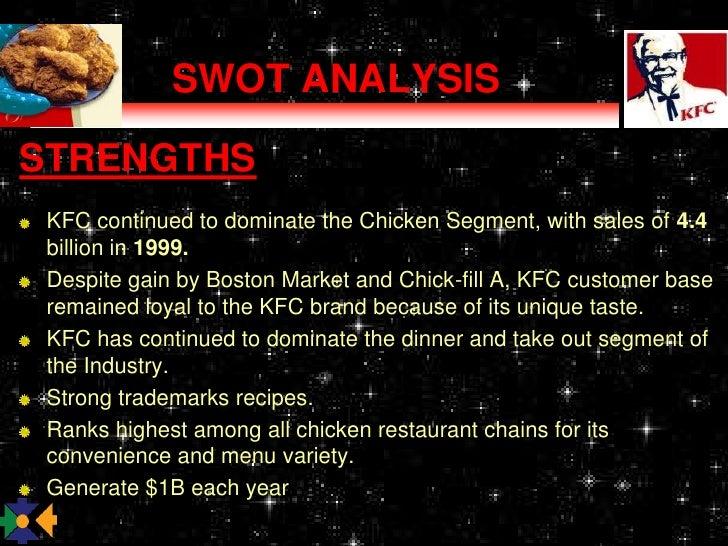 boston chicken swot Kfc swot presentation 1 kentucky fried chicken and its swot analysis 2 introduction of kfc kentucky fried chicken is one of the.