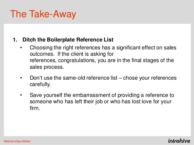 The Value of the Business Reference – Business Reference List