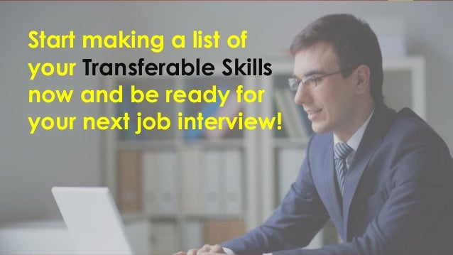 the value of transferable skills