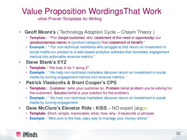 Unusual Value Proposition Statement Template Ideas