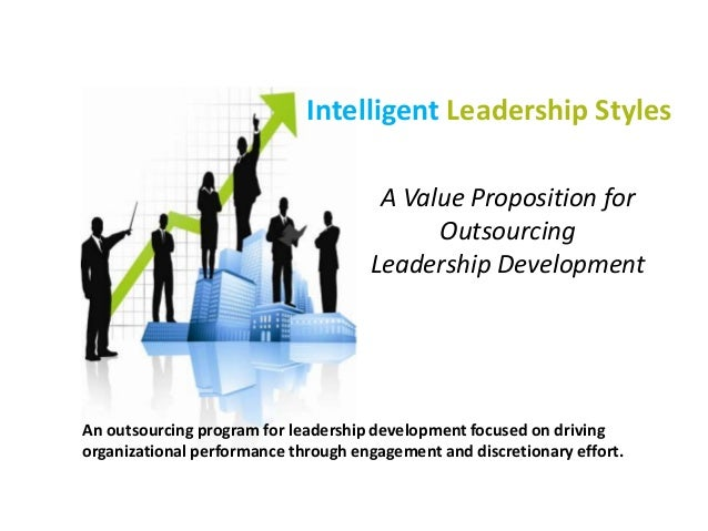 An outsourcing program for leadership development focused on driving organizational performance through engagement and dis...