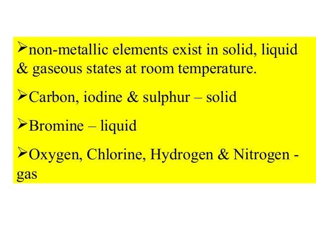 Is Iodine Liquid At Room Temperature