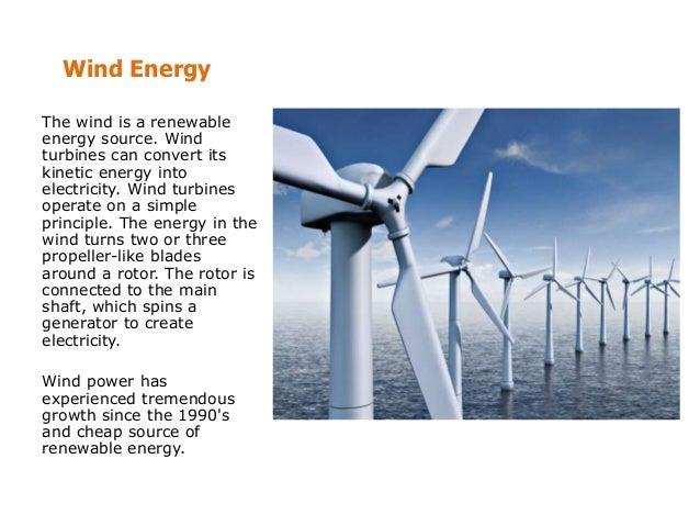 Types Renewable Energy