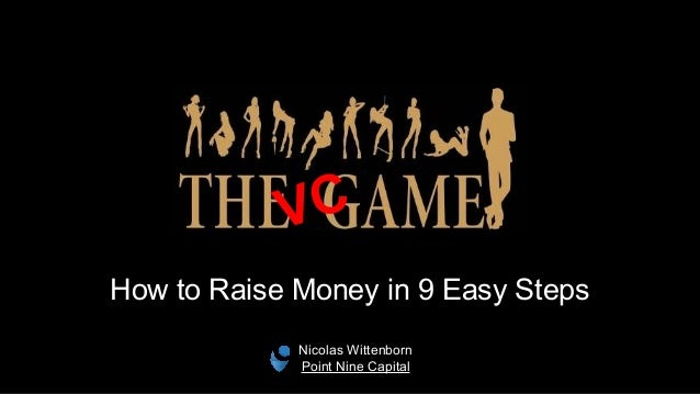How to Raise Money in 9 Easy Steps VC Nicolas Wittenborn Point Nine Capital