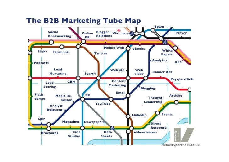 The B2B Marketing Tube Map                                                                             Spam             So...