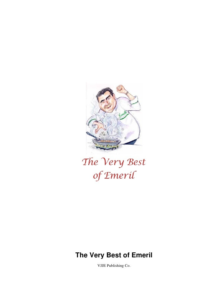 The Very Best of Emeril      VJJE Publishing Co.