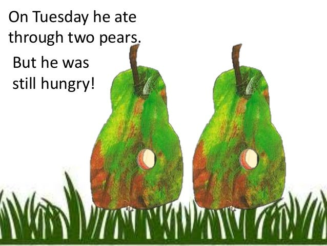 The very hungry caterpillar power point