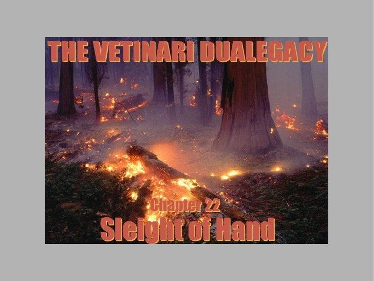 Welcome back to the Vetinari Dualegacy! This is Chapter 22: Sleight of Hand.    Long ago, before they were dead...