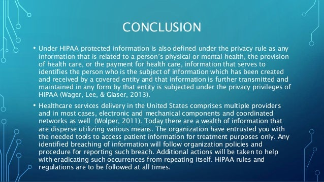 The viability of personal health related information