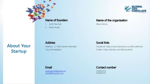 The vibrant startup challenge entry submission Slide 2