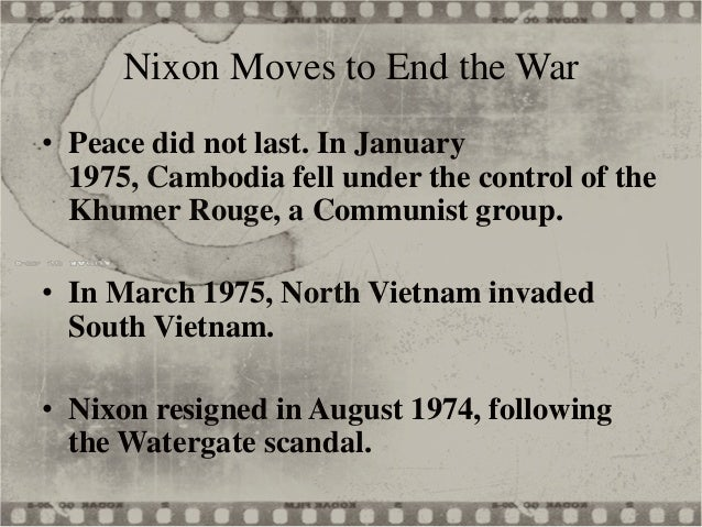 Canada and the vietnam war essay