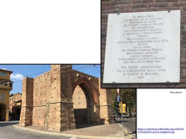https://commons.wikimedia.org/wiki/Fil e:Prospettiva_porta_maggiore.jpg Own photo