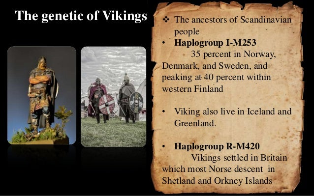 The vikings age presentation