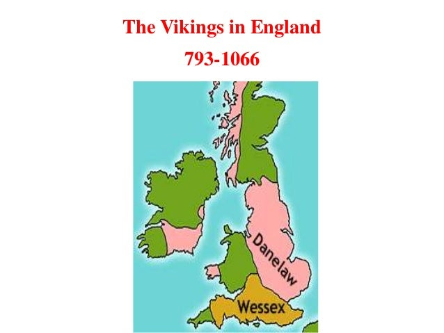 Map Of England 793 Ad.The Vikings And England