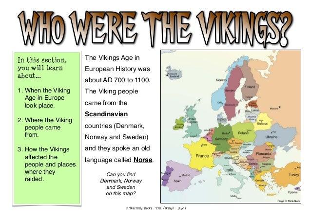 The Vikings Pack - Norway map vikings