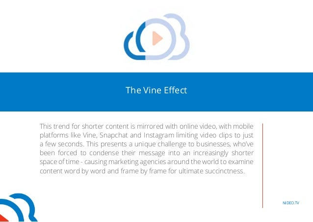 The vine effect: Are video apps killing our attention span? Slide 3