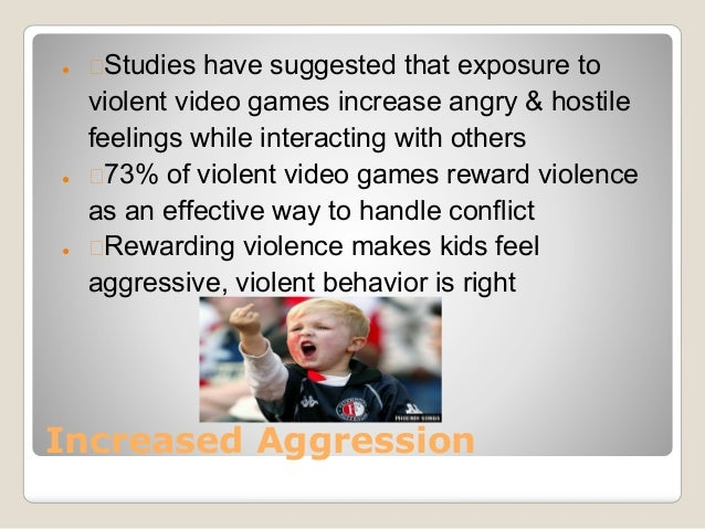 the effects of aggressive video games and violent movies on the behavior of an individual Violent video games might not cause violent behavior  the effects of violent  movies and television, aggressive music lyrics, and even radio shows  the way  a video game affects an individual child may depend on a.
