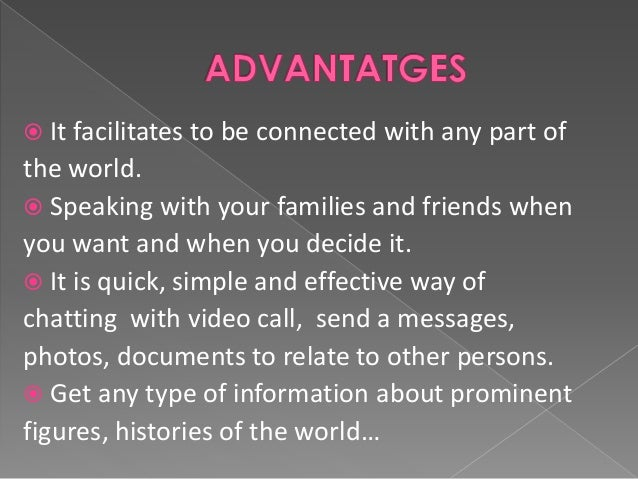 The virtual communication
