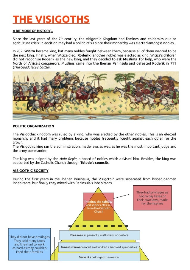 essay on visigoths Essay on ottoman empire  ottoman empire the ottoman  southern spain was lost to the visigoths and italy was lost to the lombard's after justinian's death there was a long war between persia and byzantium, to which both empires were weakened avars, nomadic asiatic people,.