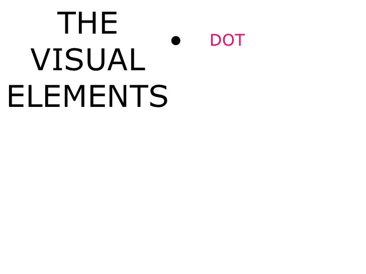 The Visual Elements : The visual elements of an image english version