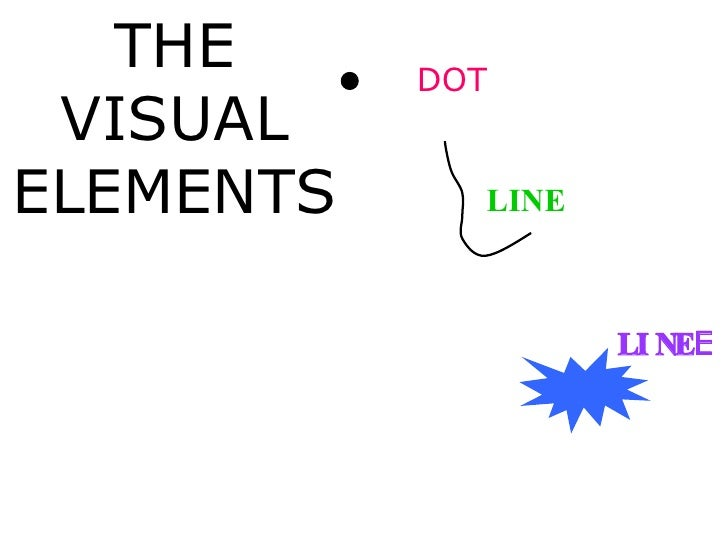 Visual Elements : The visual elements of an image english version