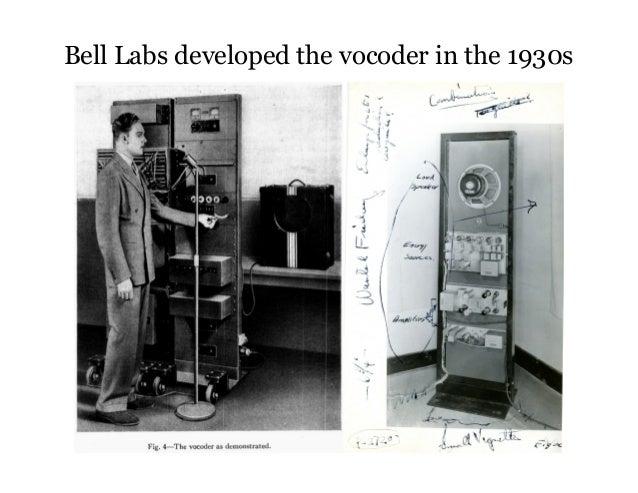 The Vocoder, Auto-Tune, Pitch Standardization, and Vocal