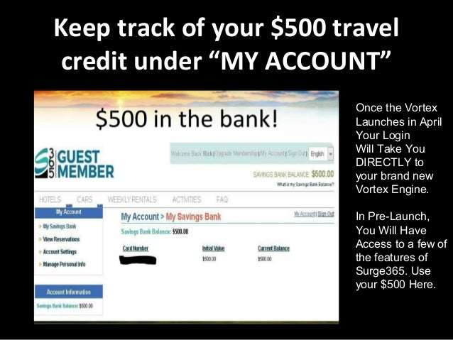 Pre-Register for The Vortex! Get $500 in Free Travel Credit!